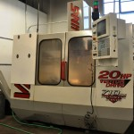 HAAS CNC Mill for Custom Lighting Manufacturing