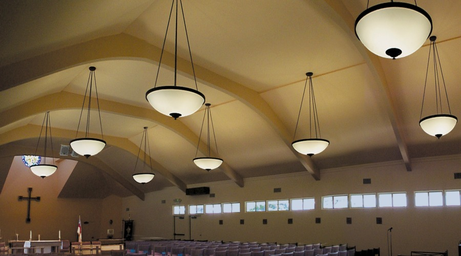 Custom Church Lighting - St  John's Episcopal | Contract Illumination